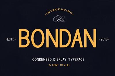 Bondan Typeface