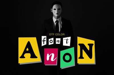 Anon - OTF color font