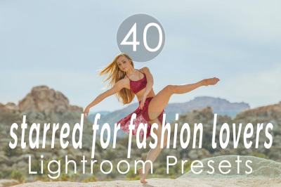 Starred for Fashion Lovers Lightroom Presets