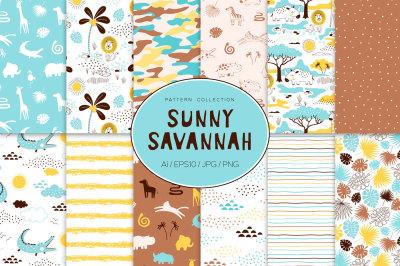 Sunny Savannah pattern set