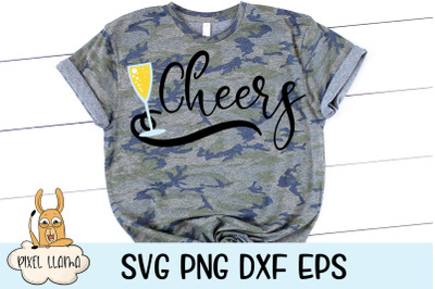Cheers SVG Cut File