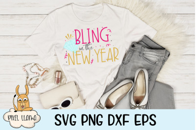 Bling In The New Year SVG Cut File