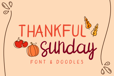 thankful sunday
