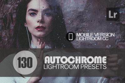 130 Autochrome Lightroom Mobile bundle (Presets for Lightroom Mobile C
