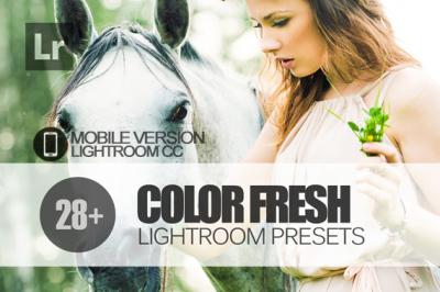 28 Color Fresh Lightroom Mobile bundle (Presets for Lightroom Mobile C
