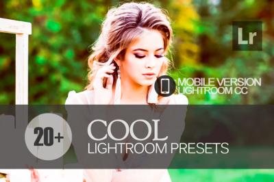 20 Cool Lightroom Mobile bundle (Presets for Lightroom Mobile CC)