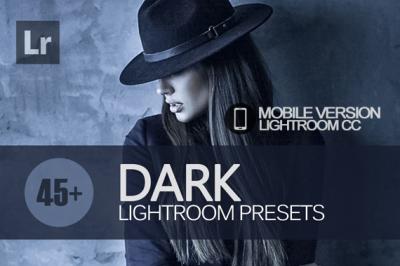 45+ Dark Lightroom Mobile bundle (Presets for Lightroom Mobile CC)
