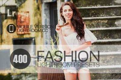 400 Fashion Lightroom Mobile bundle (Presets for Lightroom Mobile CC)
