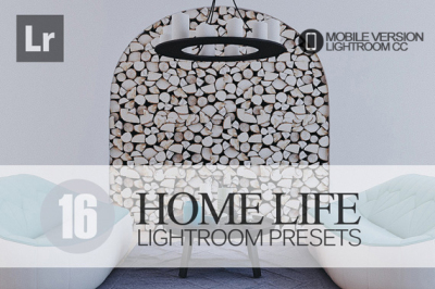 16 Home Life Lightroom Mobile bundle (Presets for Lightroom Mobile CC)