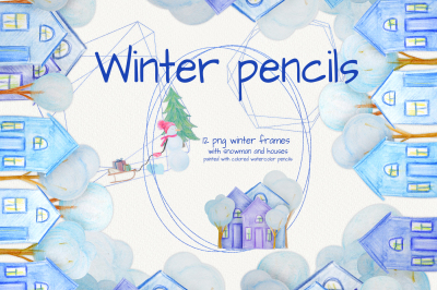 Winter pencils