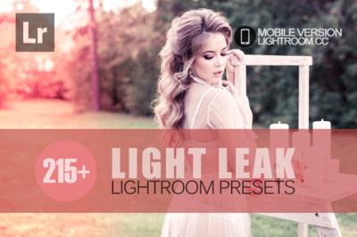 215+ Light Leak Lightroom Mobile bundle (Presets for Lightroom Mobile