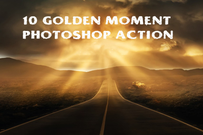10 golden moments photoshop action