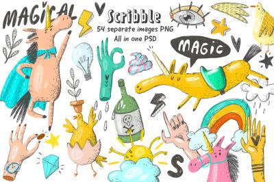 Scribble design kit