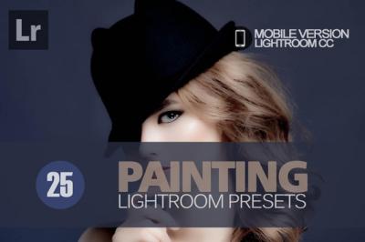 25 Painting Lightroom Mobile bundle (Presets for Lightroom Mobile CC)
