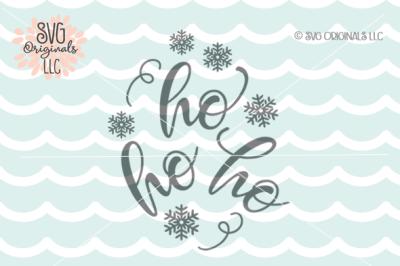 Ho Ho Ho SVG Santa Claus