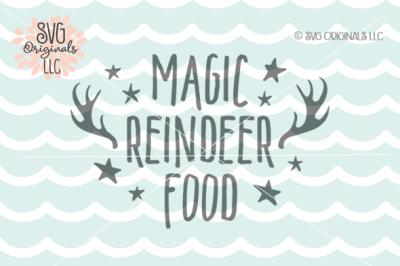 Magic Reindeer Food SVG