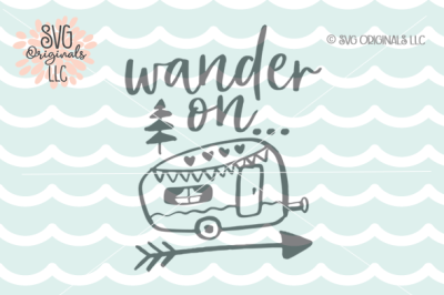 Wander SVG Adventure SVG