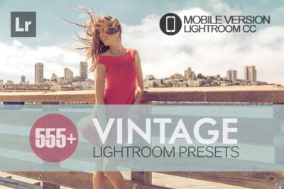 555+ Vintage Lightroom Mobile bundle (Presets for Lightroom Mobile CC)