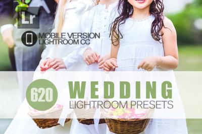 620+ Wedding Lightroom Mobile bundle (Presets for Lightroom Mobile CC)