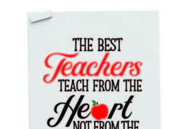 Best teacher teach from the heart