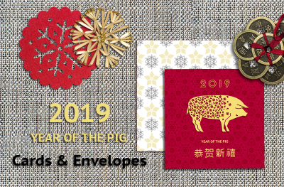 Cninese New Year Cards & Envelopes