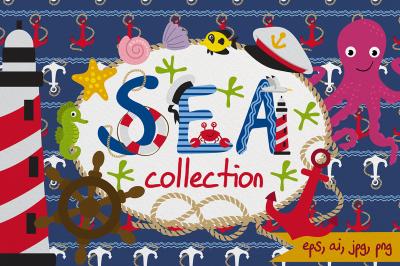 nautical sea set