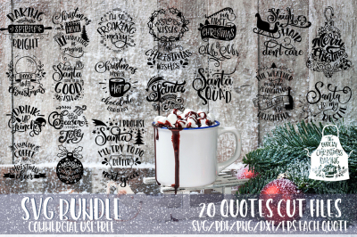 Christmas SVG Bundle Merry Christmas bundle vol 3