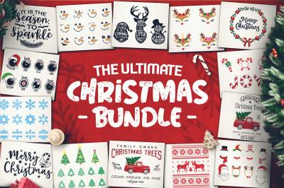 Christmas SVG Bundle - Christmas Sayings SVG - Cricut files