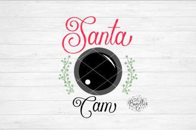 Santa Cam Christmas SVG DXF PNG