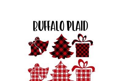Buffalo Plaid Christmas Print & Cut SVG