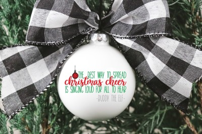 Elf Movie Quote SVG Cutting File