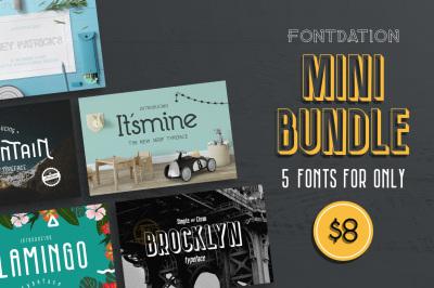 Fontdation Mini Bundle
