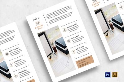 Minimalist Business Flyer-v03