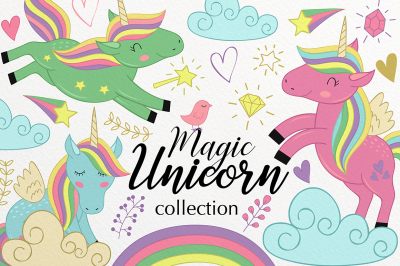 Unicorn Magic collection