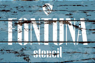 Fontuna Stencil