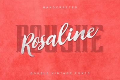 Rosalina Boushe - combined double fonts