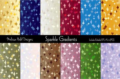 Sparkle Gradient Backgrounds