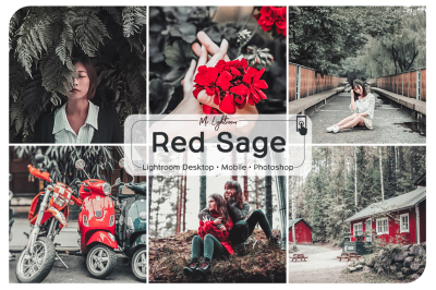 Red Sage Lightroom Desktop and Mobile Preset
