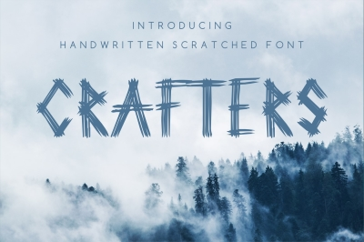Crafters - modern font