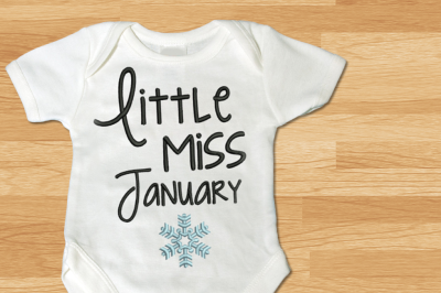 Download Little Miss January Snowflake Embroidery Free Best Free Downlod Svg Cut Files