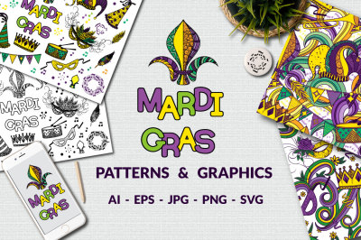 Mardi Gras Joyful Collection