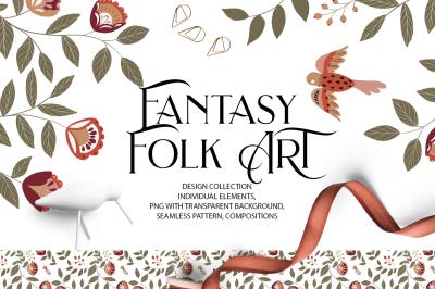 Fantasy Folk Art
