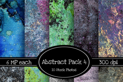 10 Pack of Abstract Texture Backgrounds Pack 4