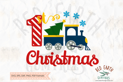 Christmas train north pole express in SVG,PNG,EPS,DXF, PDF formats