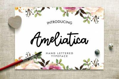 Ameliatica Beauty Font