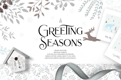 Greeting seasons design collection
