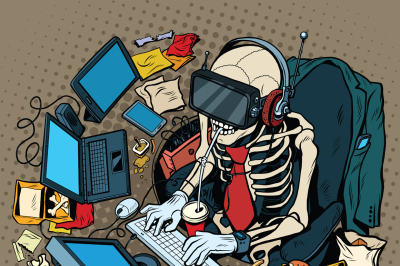 The skeleton programmer in virtual reality