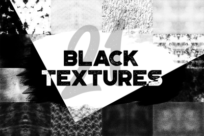 Black Rough Background Textures