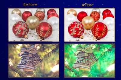 XMAS - Christmas Ornaments Lr Presets