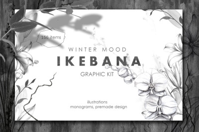 IKEBANA. Botanical Winter Kit.